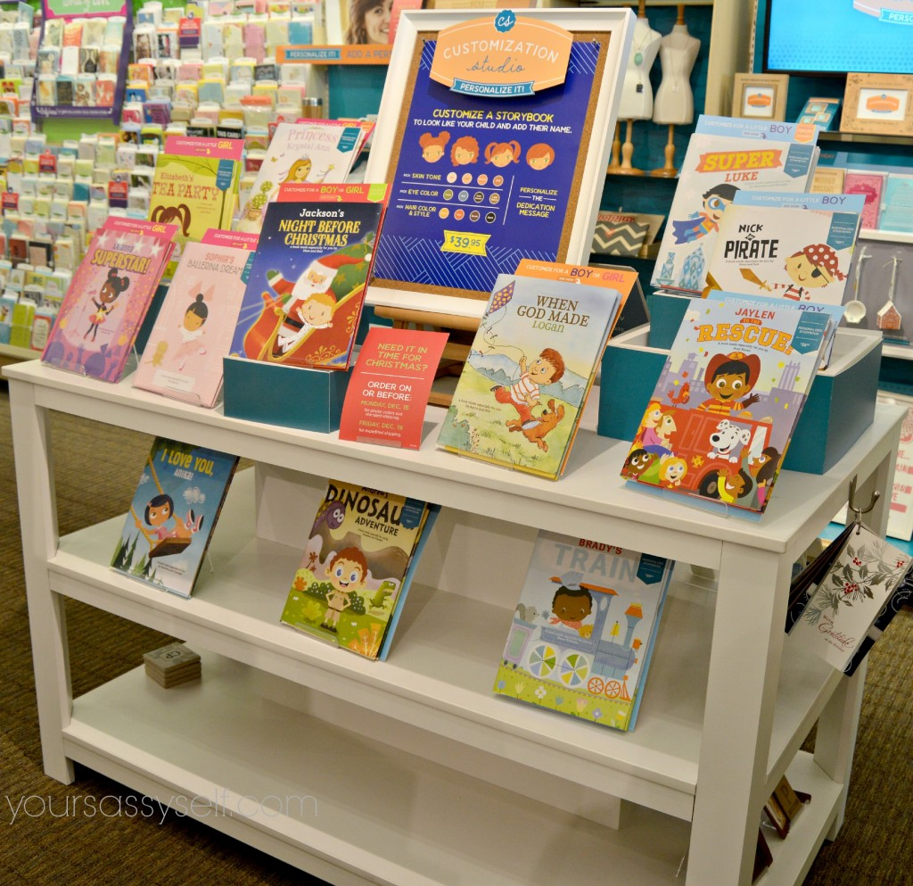 Hallmark Customization Studio Kids Books-yoursassyself.com