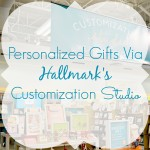 Personalized Gifts Via Hallmark's Customization Studio