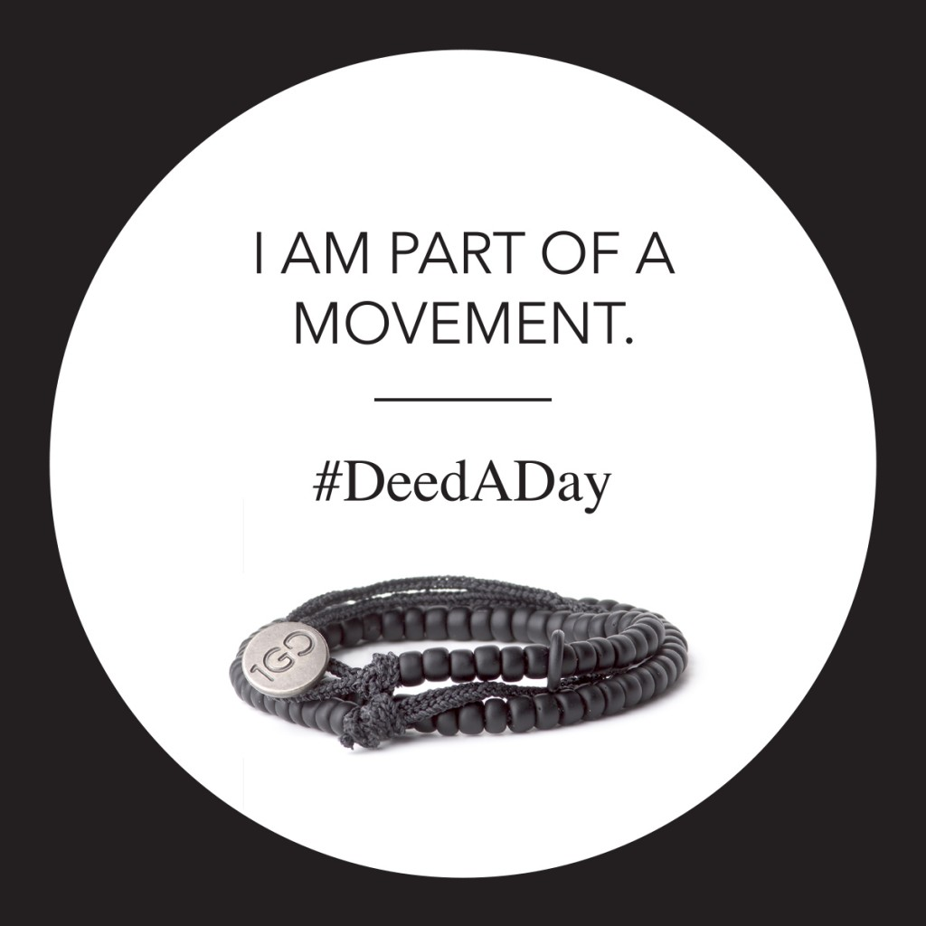 Become Part Of The Deed A Day Movement-yoursassyself.com