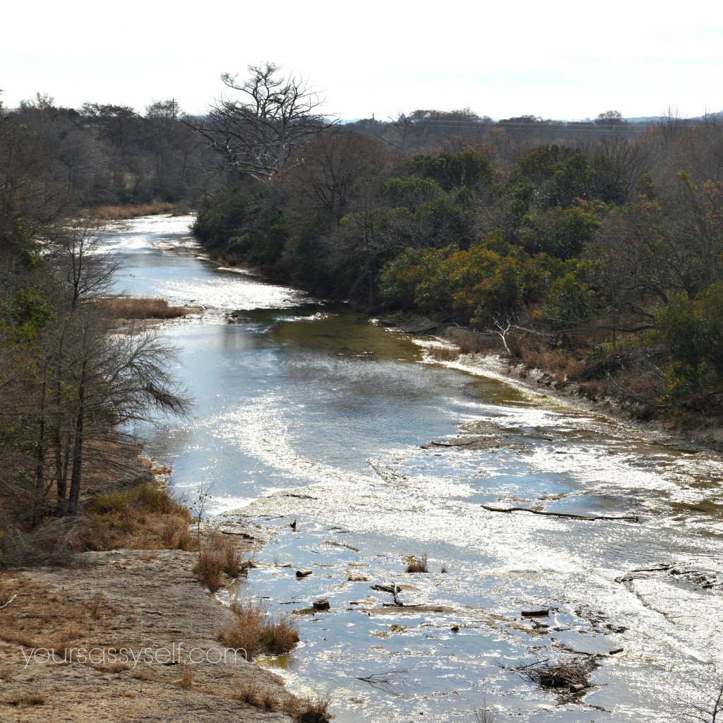 Guadalupe River in Kerrville, Tx