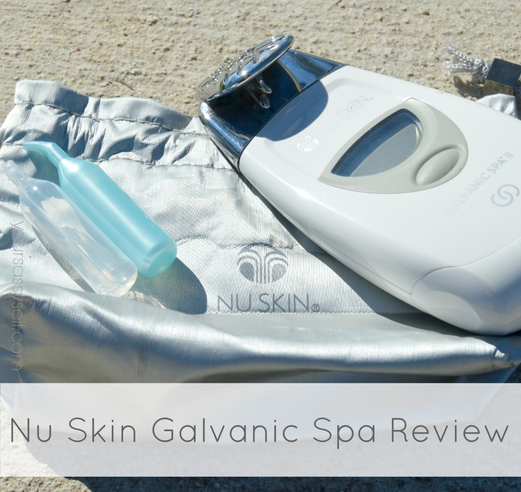 Nu Skin Galvanic Spa Review-yoursassyself.com
