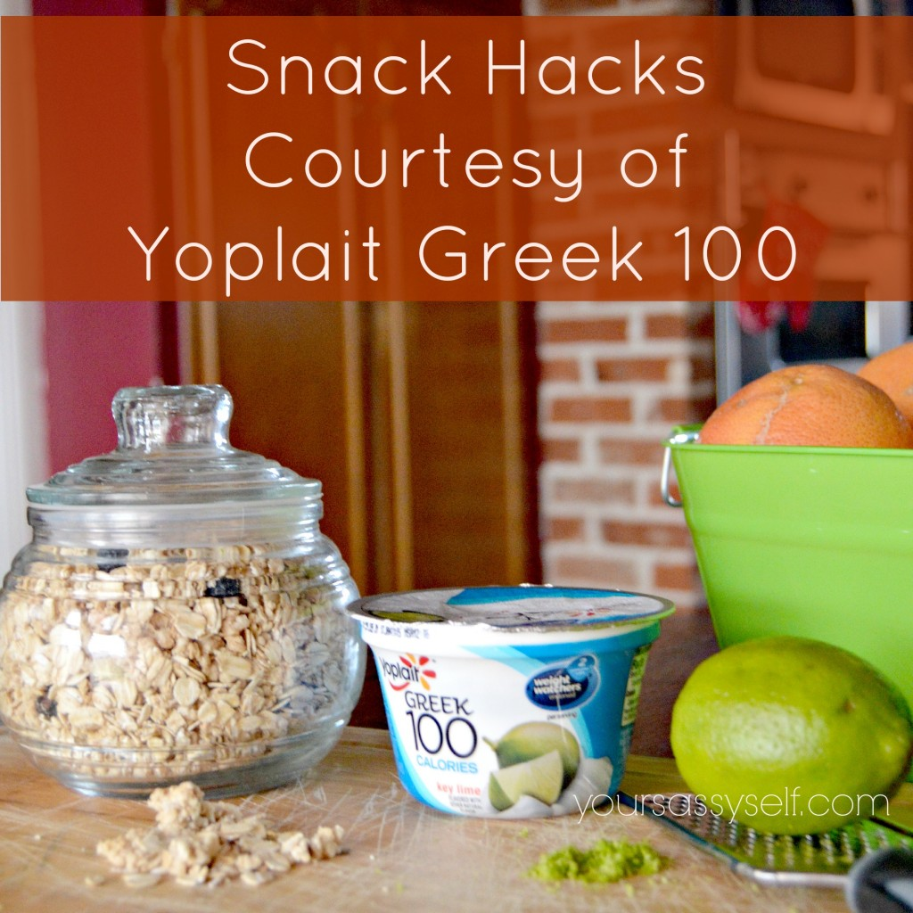 Yoplait Greek 100 Snack Hacks-yoursassyself.com