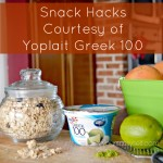Snack Hacks Courtesy of Yoplait Greek 100