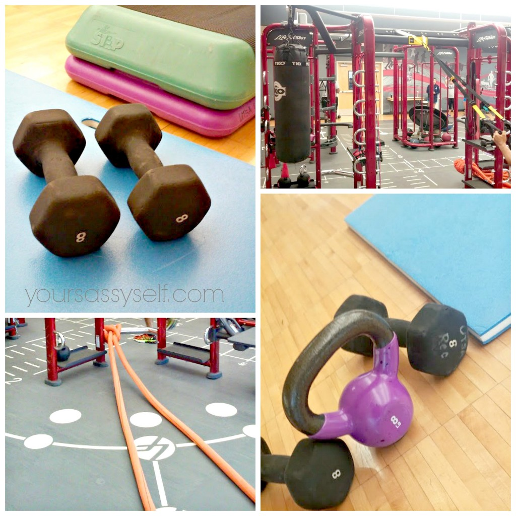 Various gym equipment - yoursassyself.com