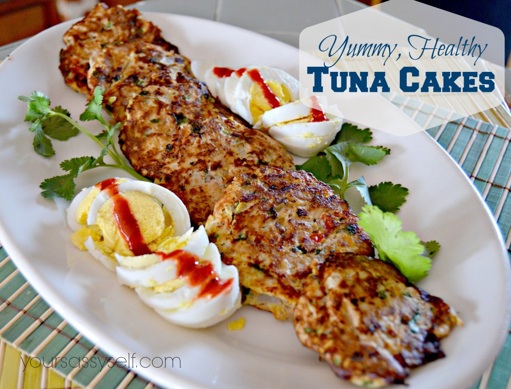 Yummy Healthy Tuna Cakes - yoursassyself.com