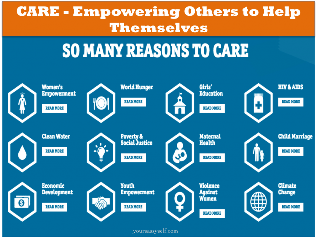 CARE - Empowering Others to Help Themselves - yoursassyself.com.jpg