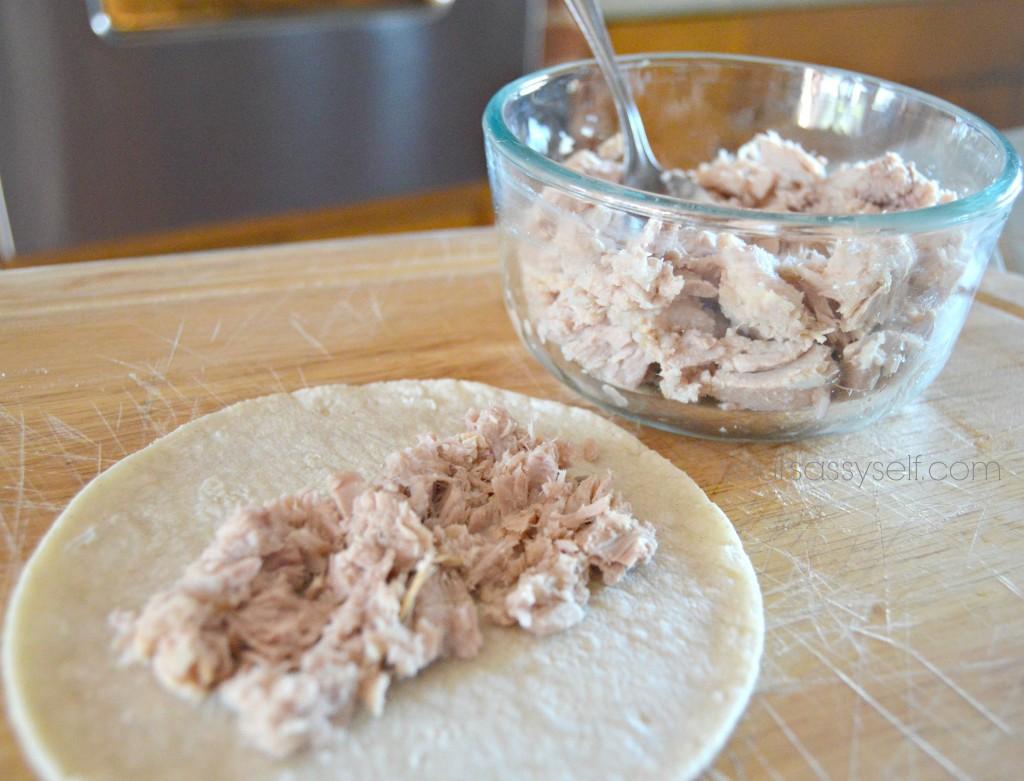 Fill Tuna Enchilada - yoursassyself.com