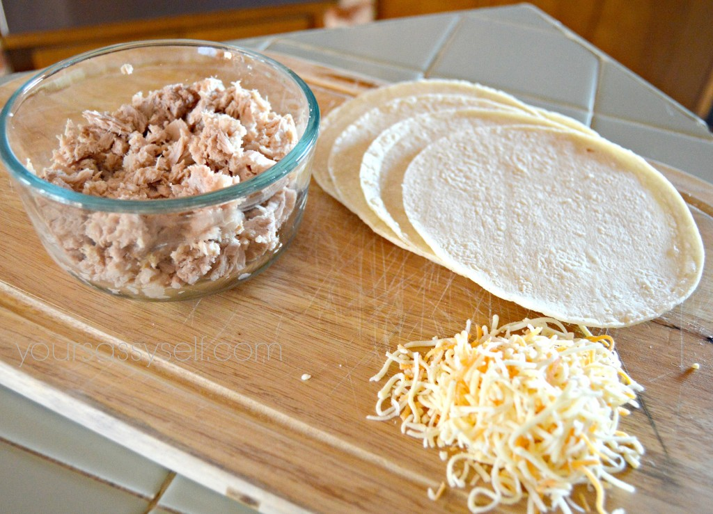 Tuna Enchilada Ingredients - yoursassyself.com