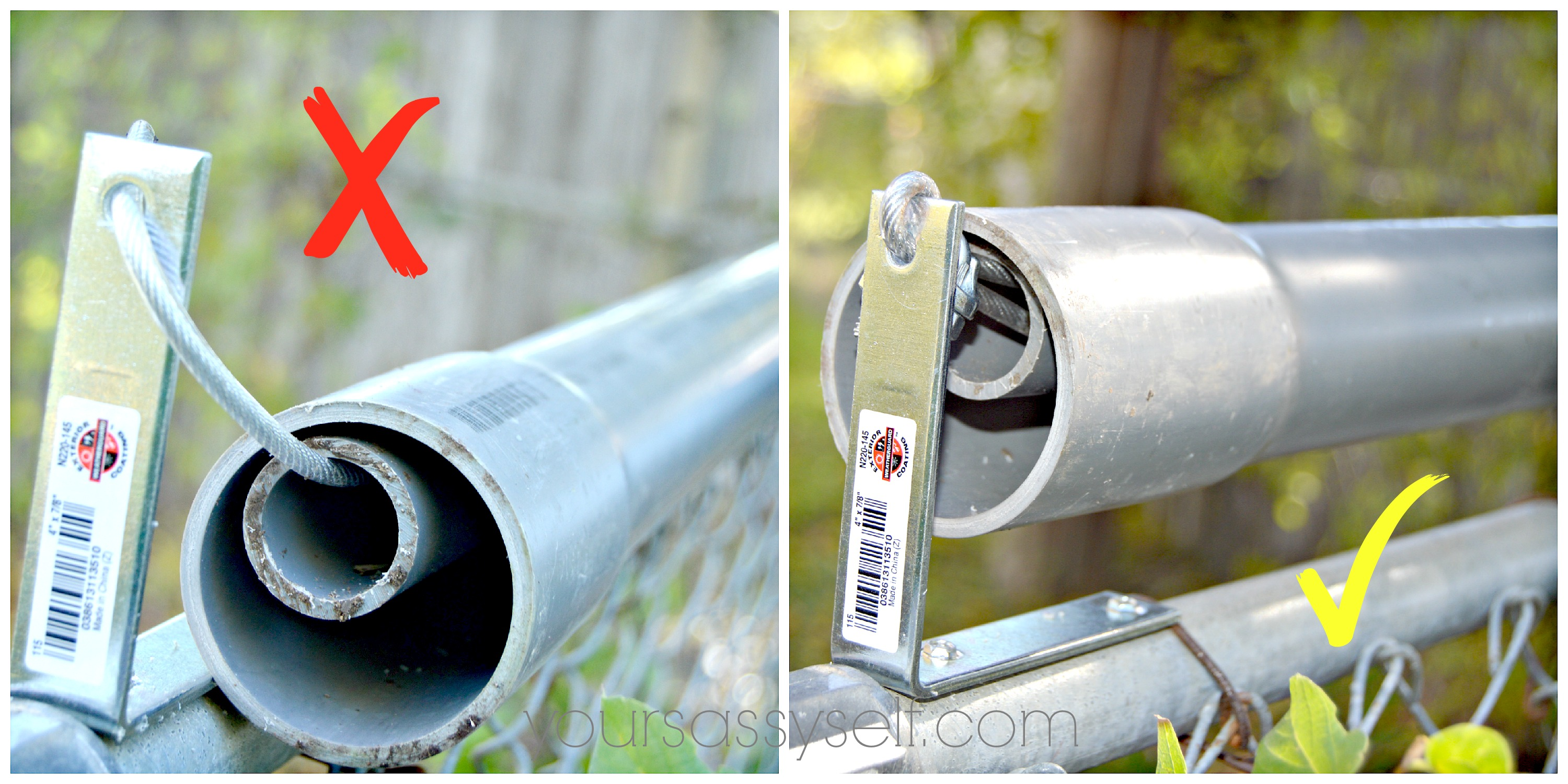 Roll Bar Fence DIY - Keep Your Pets In & Others Out - Your Sassy Self