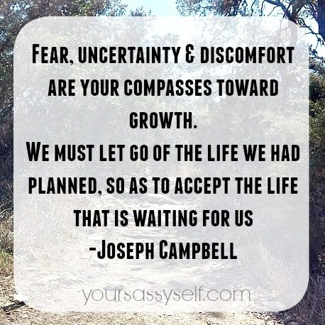 Accept The Life Waiting - Joseph Campbell quote - yoursassyself.com