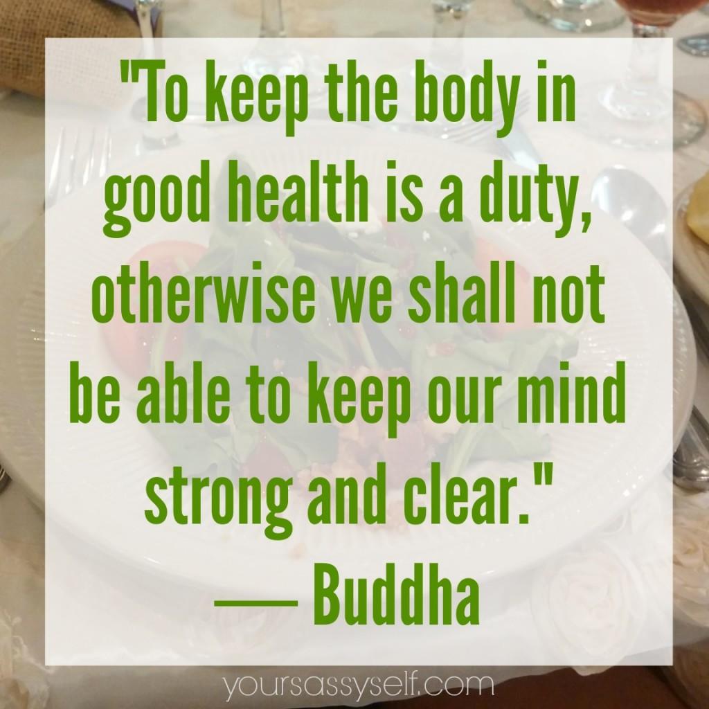 Buddha quote - yoursassyself.com