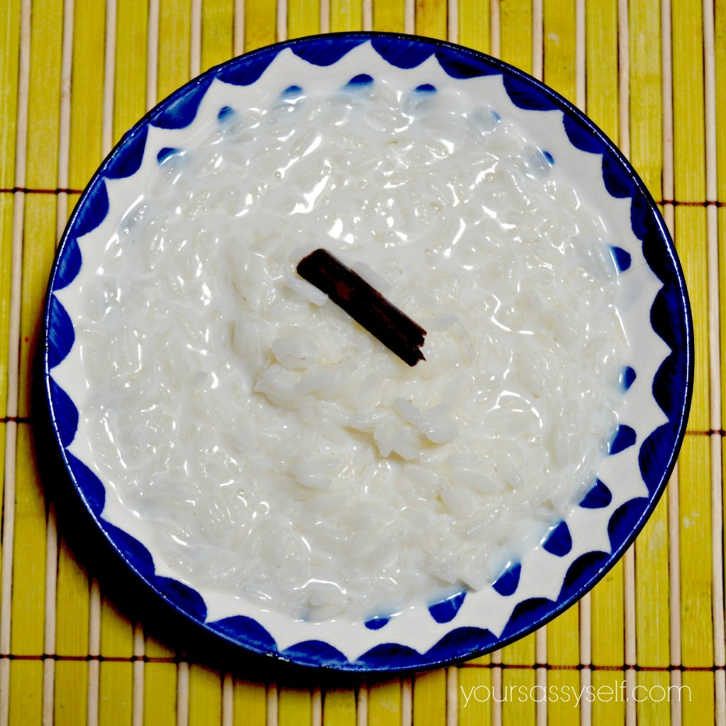 Rice Pudding-Atole de Arroz - yoursassyself.com