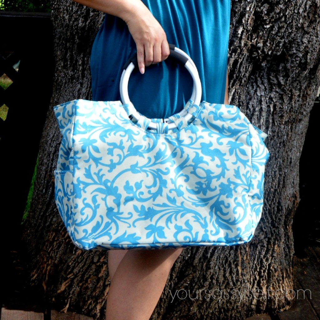 Fashionable Turquoise Travel Cooler - yoursasssyself.com