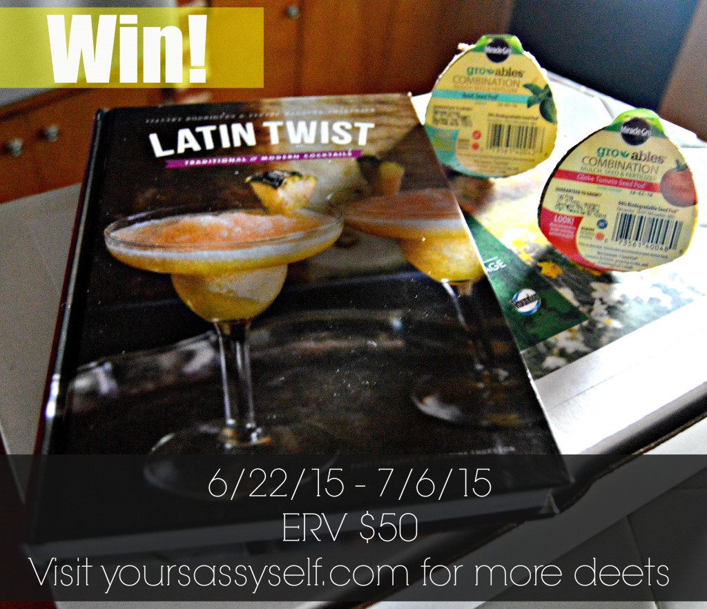 Latin Twist Giveaway - yoursassyself.com