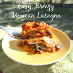 Easy, Breezy Mexican Lasagna