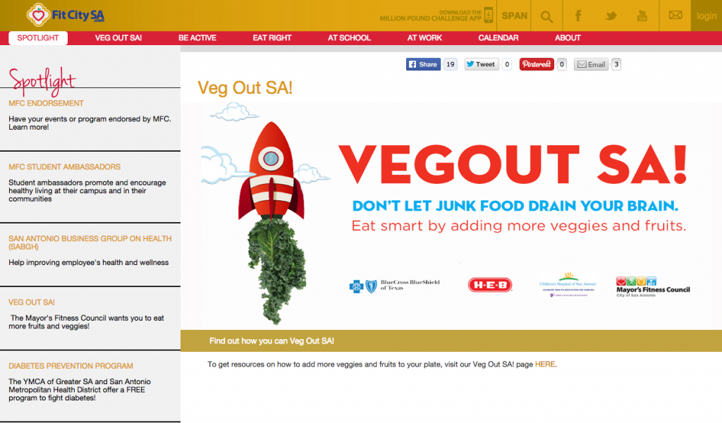 Veg Out SA Screen Shot - yoursassyself.com