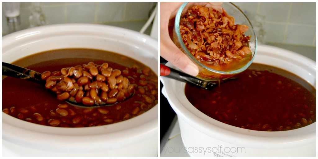 Making Frijoles Charros in Crock Pot - yoursassyself.com