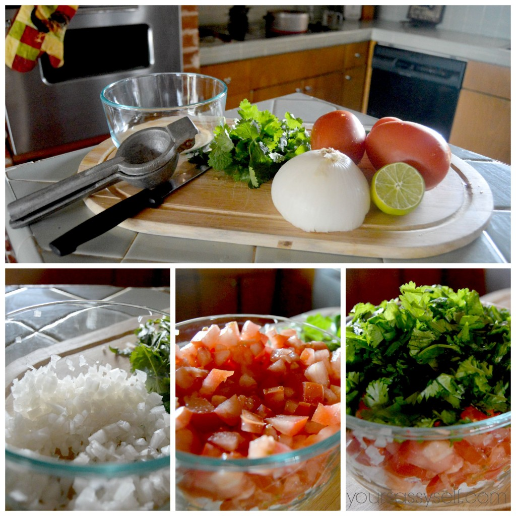 Pico De Gallo Ingredients - yoursassyself.com