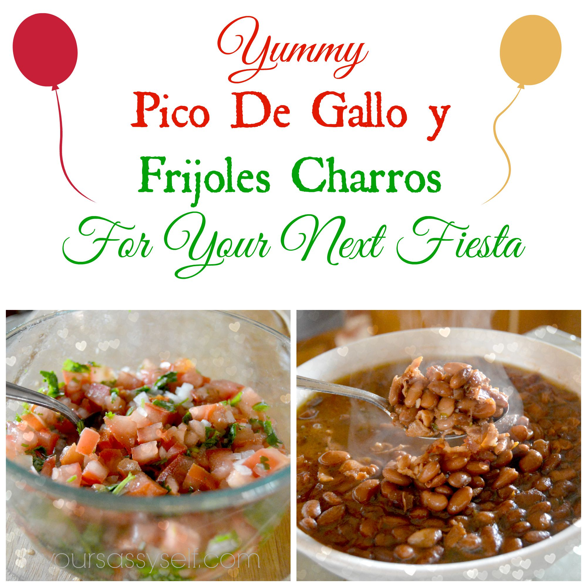 Pico De Gallo y Frijoles Charros to Wow at Your Next Fiesta