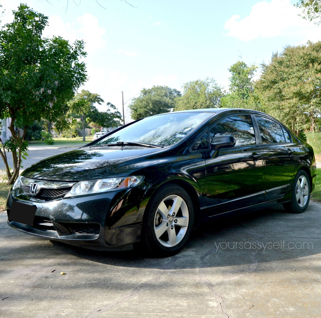 Black Honda Civic - yoursassyself.com