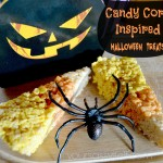 Candy Corn Inspired Halloween Treats