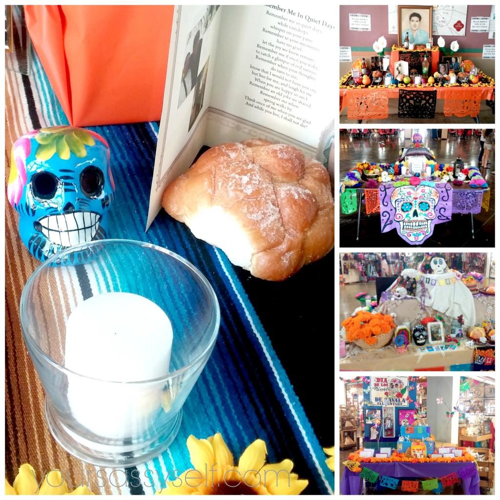 Dia de los Muertos Altars - yoursassyself.com
