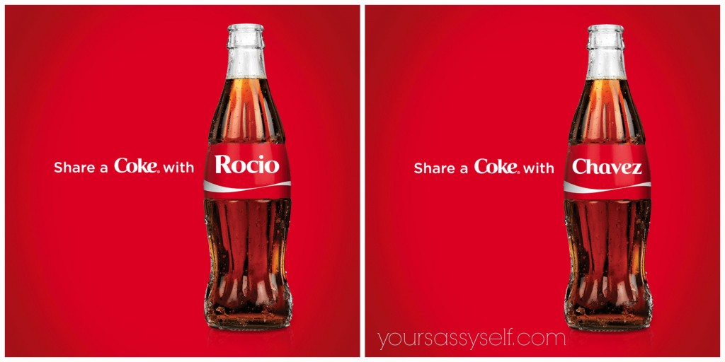 Share a Coke with Rocio Chavez - yoursassyself.com