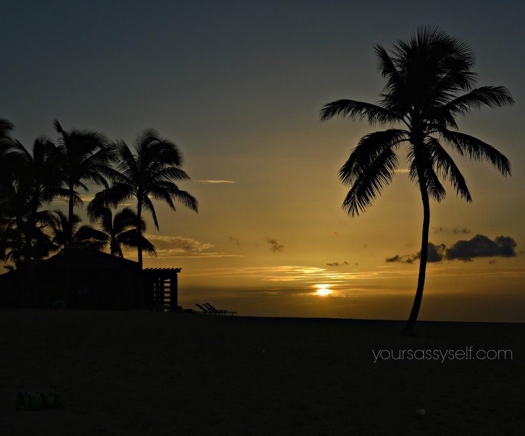 Bahamian Sunset - yoursassyself.com
