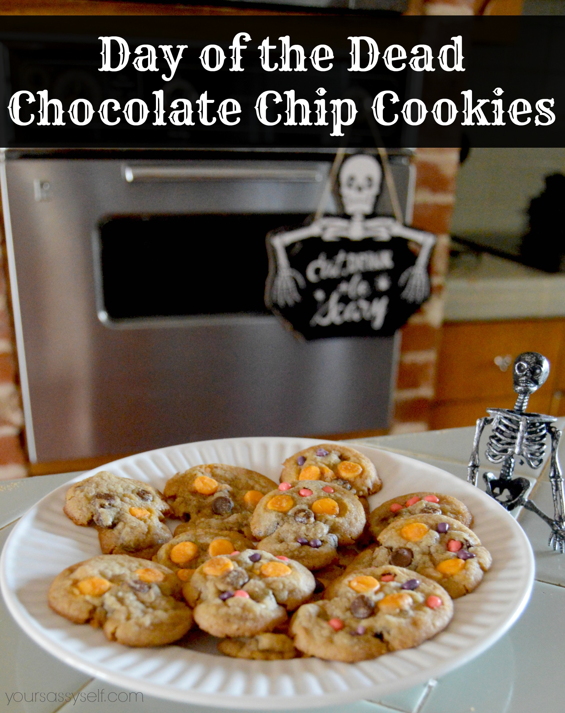 Day of the Dead Chocolate Chip Cookies