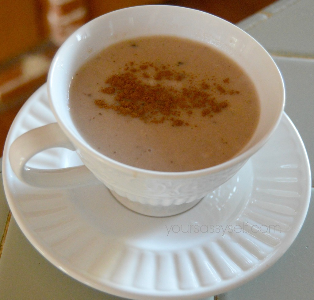 Champurrado - thick Mexican hot chocolate - yoursassyself.com