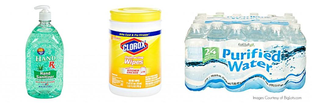 Sanitizer, wipes and water help keep germs away - yoursassyself.com