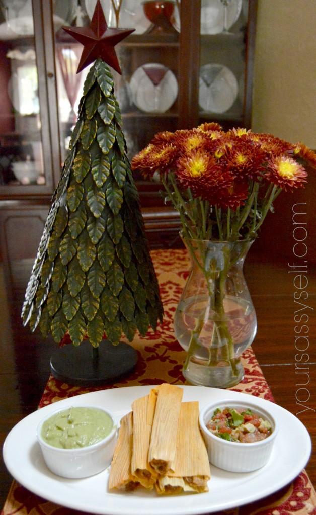 Avocado salsas and tamales - yoursassyself.com