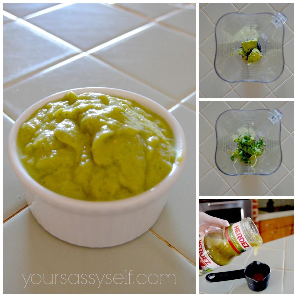 Creamy Avocado Salsa - yoursassyself.com