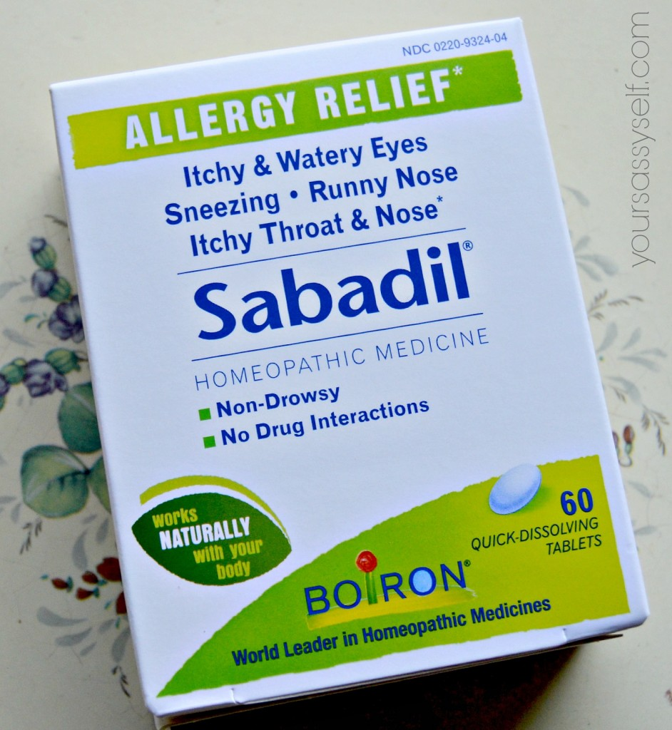 Sabadil® for Allergy Relief - yoursassyself.com
