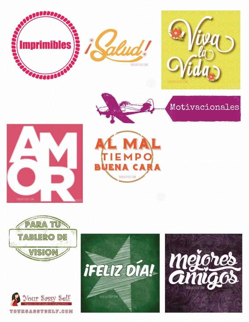 Imprimibles Motivacionales Para tu Tablero de Vision - yoursassyself.com