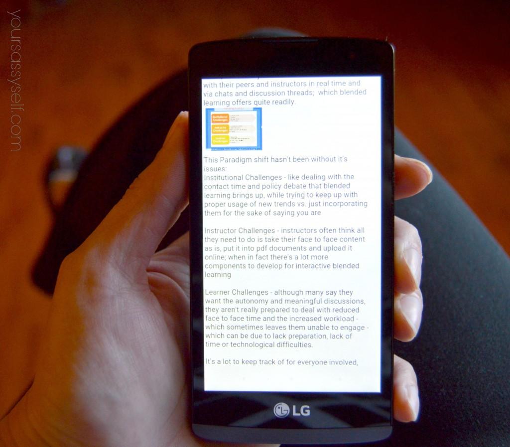 Presentation on LG Walmart Family Mobile Smartphone - yoursassyself.com