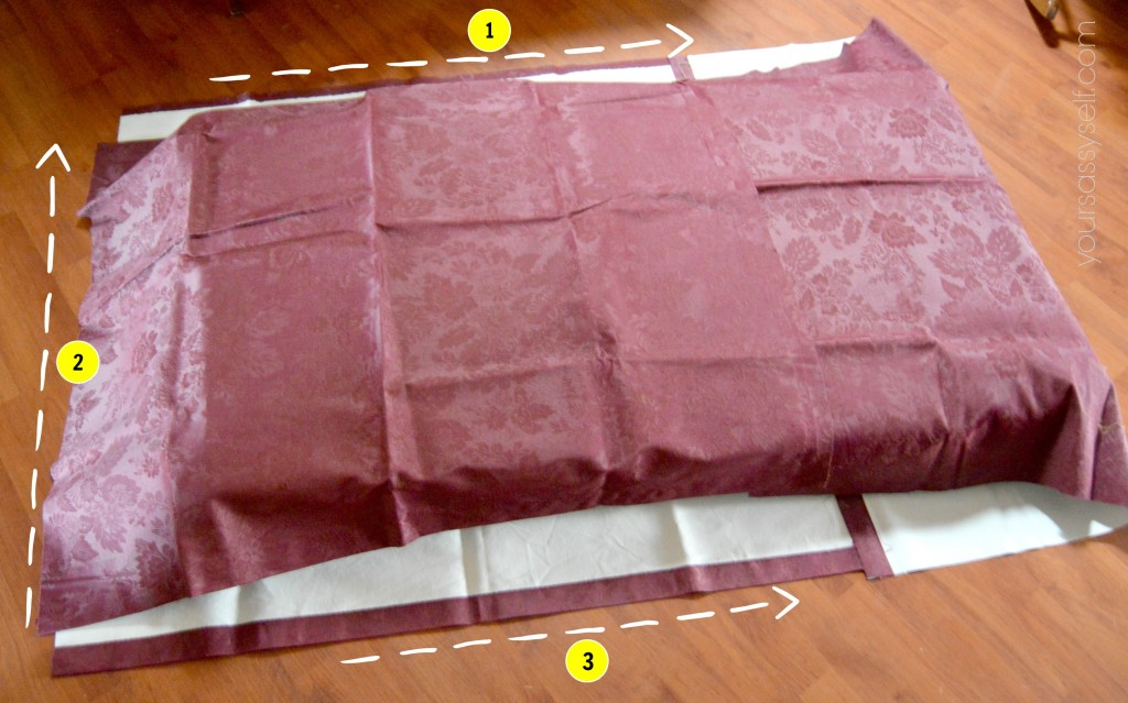 Three Sides to Hem on Crib Mattress Cover - yoursassyself.com