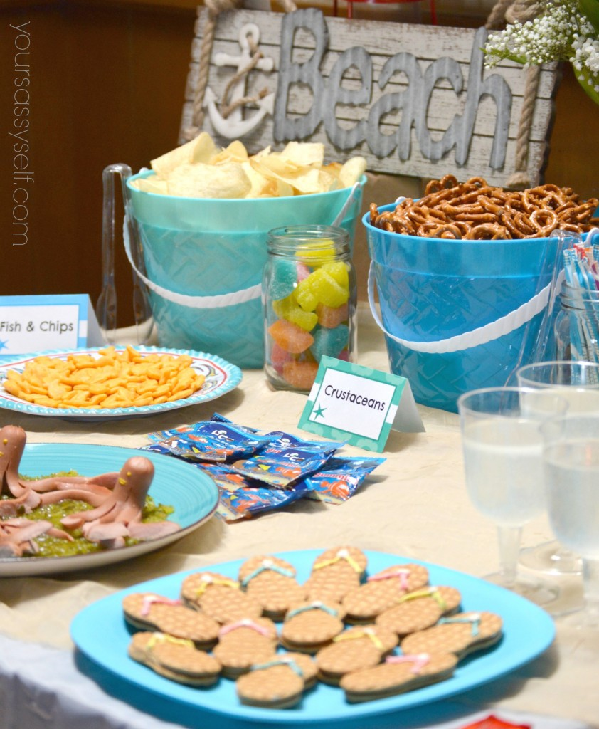 Fun birthday beach party ideas for any age your sassy self for Beach house reception ideas