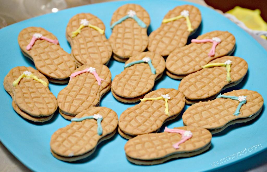 Flip Flop Cookies - yoursassyself.com