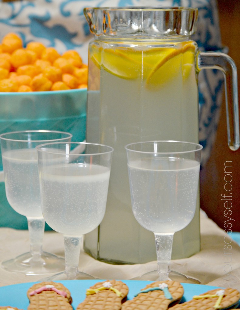 Lemonade Pitcher and Glasses - yoursassyself.com