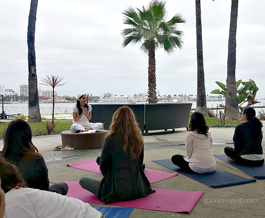 Kundalini Yoga session with Cristy Marrero at WAG - yoursassyself.com