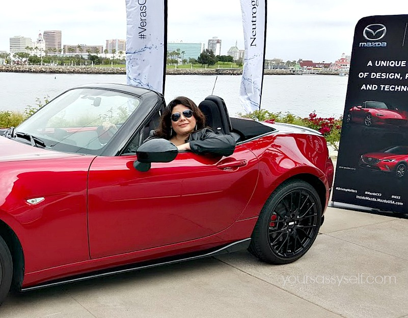 Me in Mazda MX-5 MIATA - yoursassyself.com