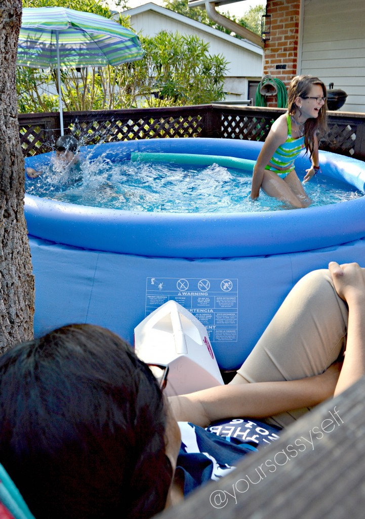 Kids Splashing and Laughing in Pool - yoursassyself.com