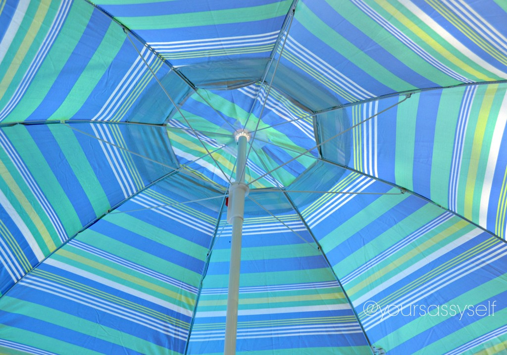 Open Beach Umbrella - yoursassyself.com