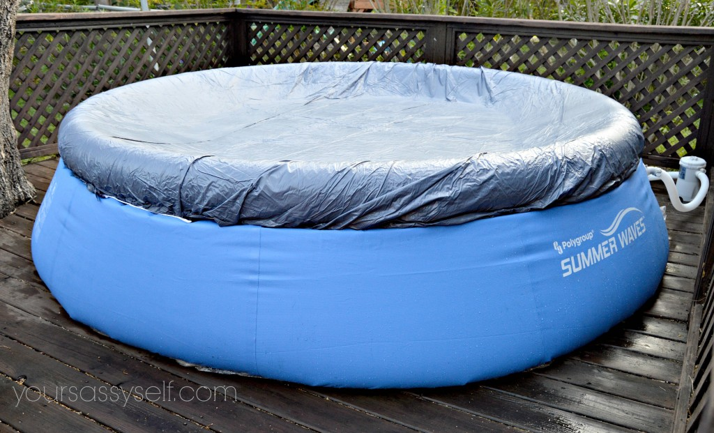 Quick Set Pool and Pool Cover - yoursassyself.com