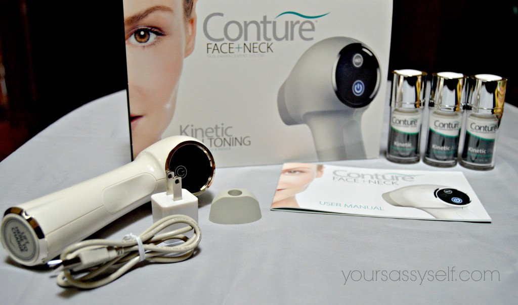 Items in Conture Kinetic Skin Toning System - yoursassyself.com