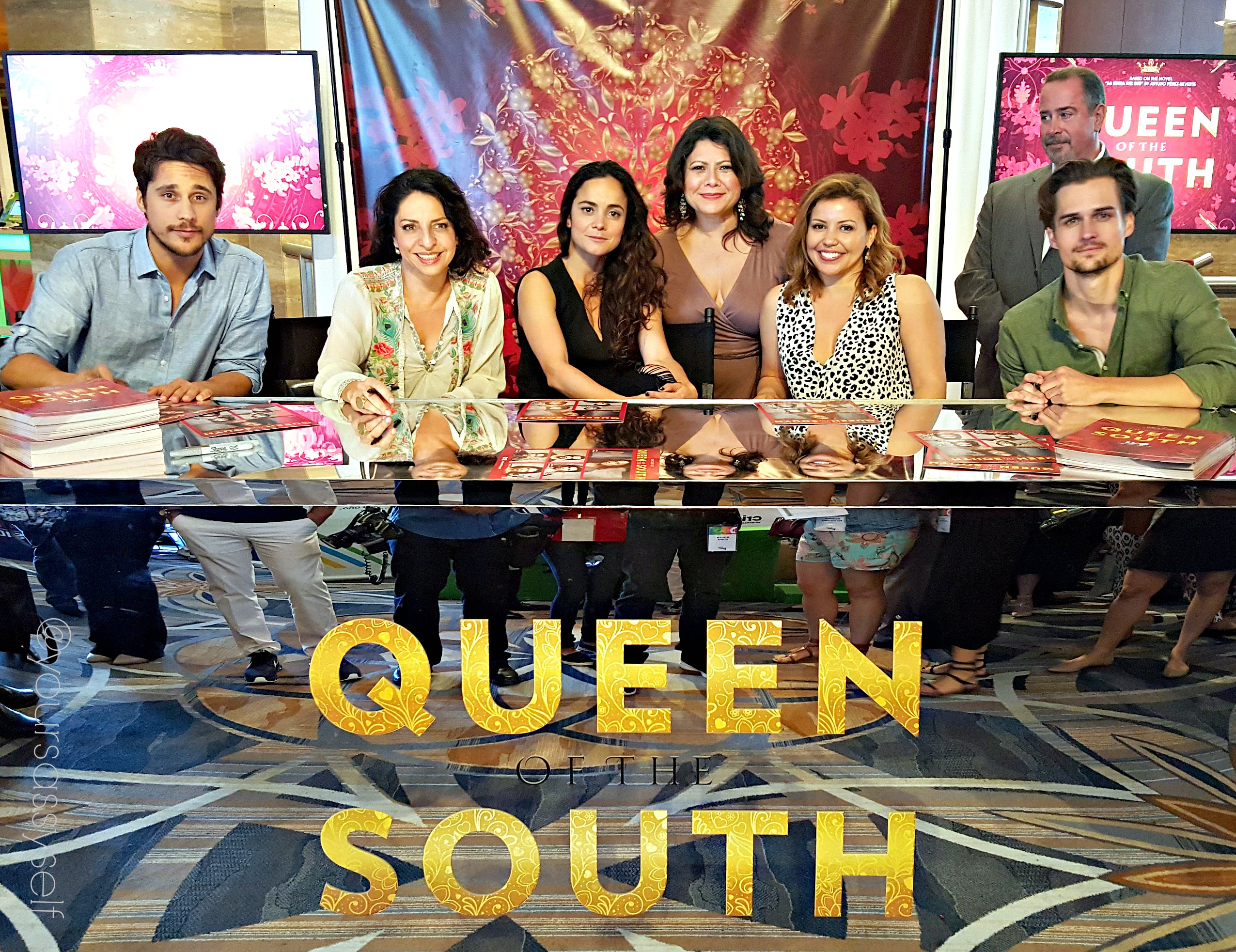 Queen of the South Cast at Hispz16 - yoursassyself.com