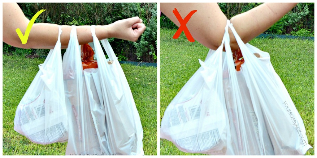 Right way and wrong way to carry bags - yoursassyself.com