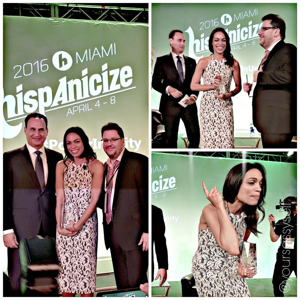 Rosario Dawson 2016 Latinovator - yoursassyself.com