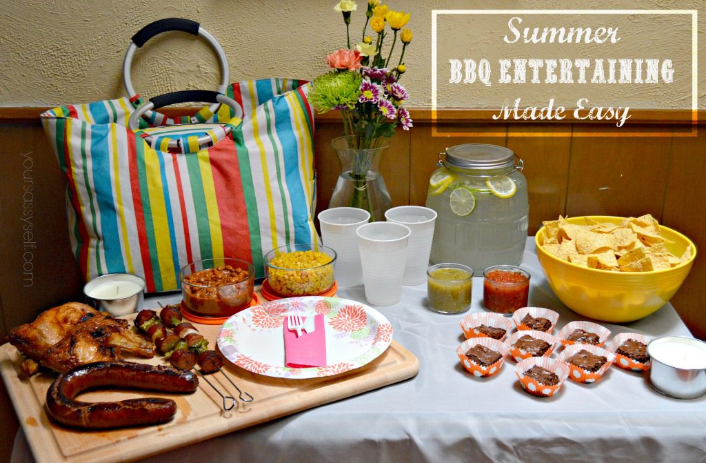 Summer BBQ Entertaining Made Easy - yoursassyself